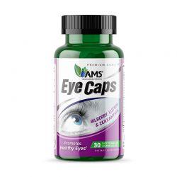 ams eyecaps 30 caplets dietary supplement