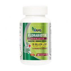 ams florabiotix probiotic 30 billion 30 caps dietary supplement