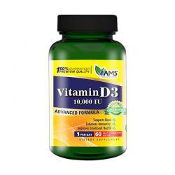 ams vitamin d 10000iu 60 softgels