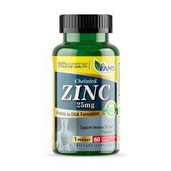 ams zinc 25mg 60 tabs